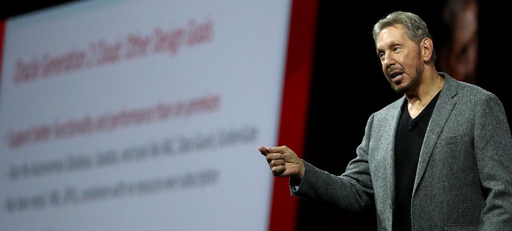 Larry Ellison, uno de los principales portavoces de Oracle